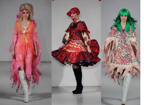 Zandra rhodes fashion designer 58