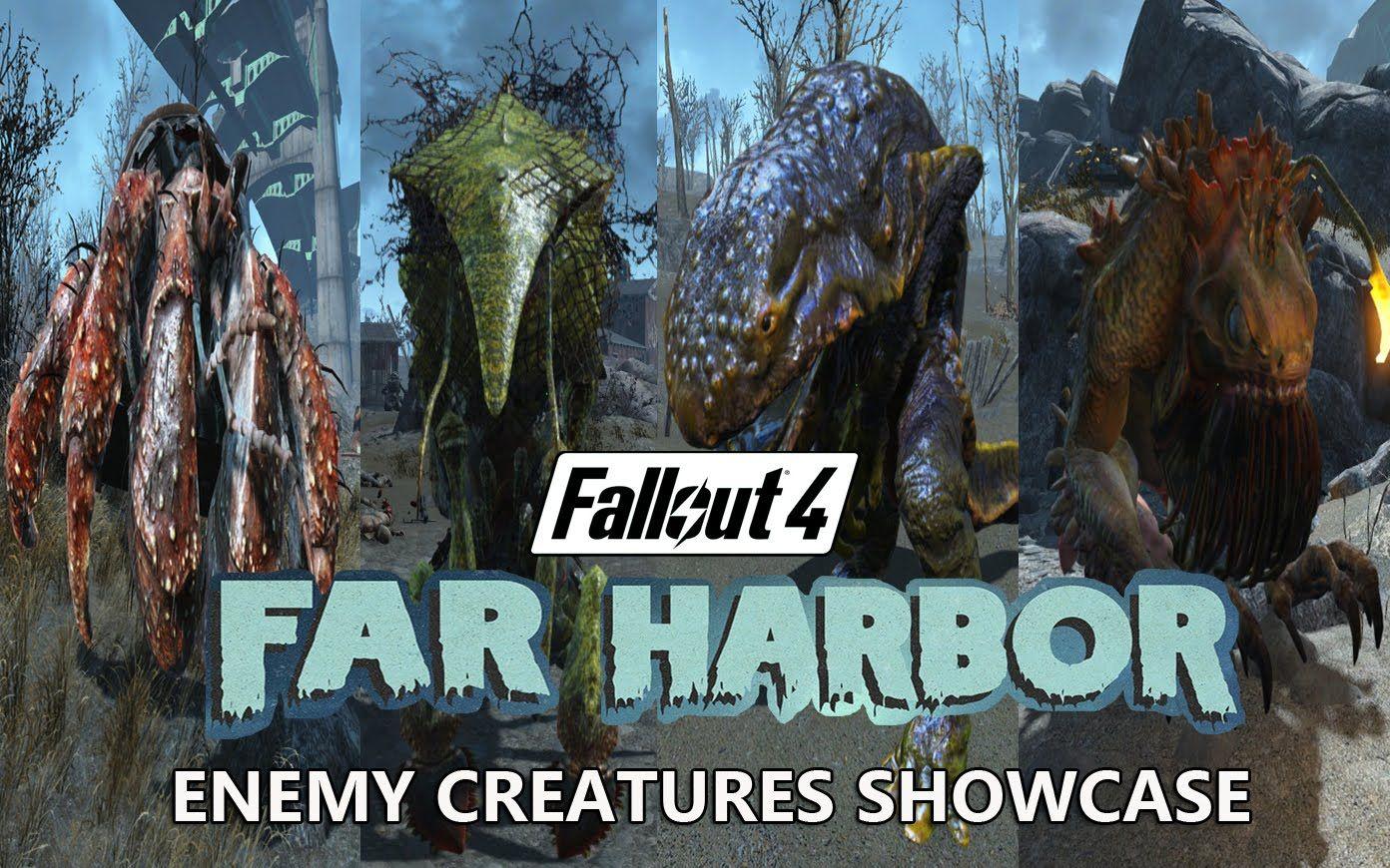Far Harbor Enemy Creature Showcase - Fallout 4 | fallout