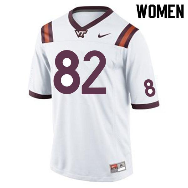Women 82 James Mitchell Virginia Tech Hokies College