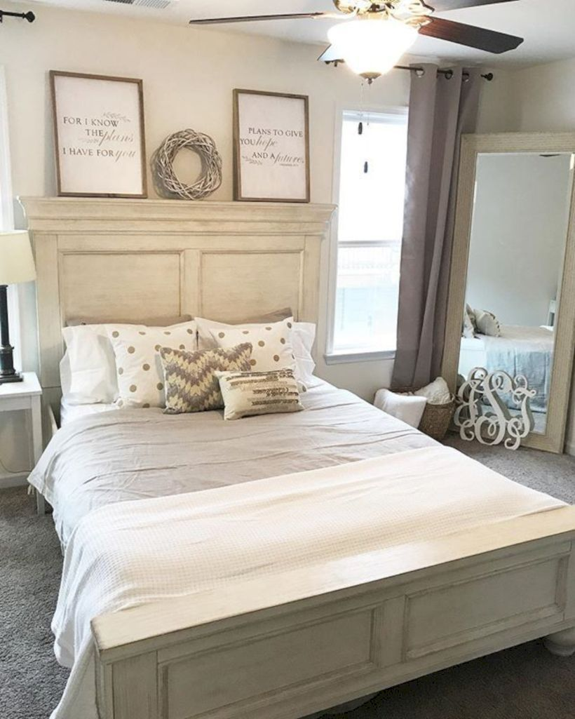 12 Stunning Bedroom Paint Ideas For Your Master Suite: 35 Stunning Farmhouse Bedroom Ideas For Inspire Your