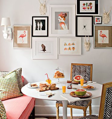 Photo frame feature wall   Frames & Printables   Pinterest   Walls ...