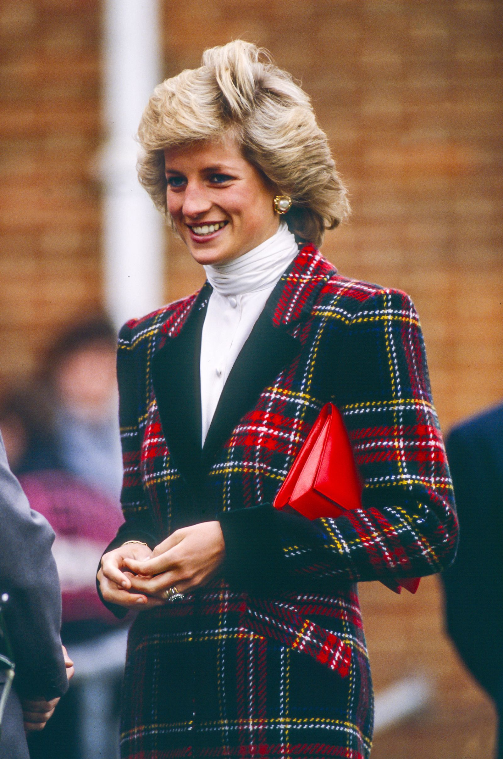Princess Charlotte Is the Latest Royal to Kill It in Plaid #princessdiana