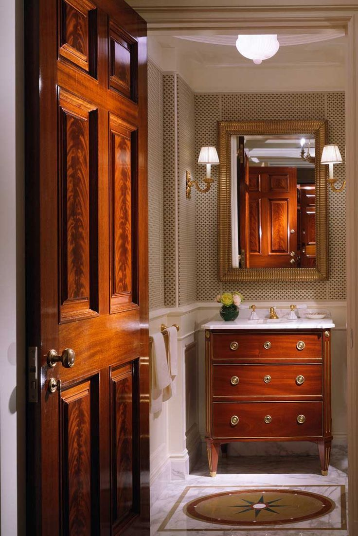 fabulous luxury masculine bathroom   Traditional, classic bathroom. Masculine. John B. Murray ...