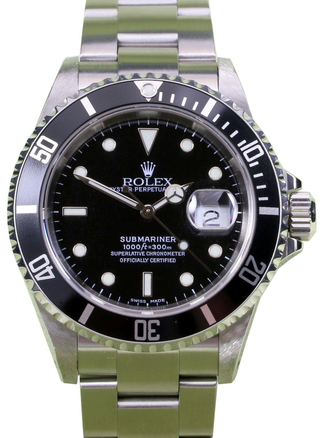 Rolex 16610 Submariner Black For Sale Rolex Submariner 16610 Rolex Submariner Rolex