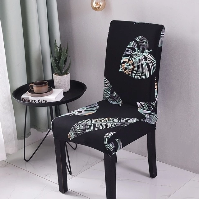 Floral Print Design Stretch Chair Cover For Party Banquet ...