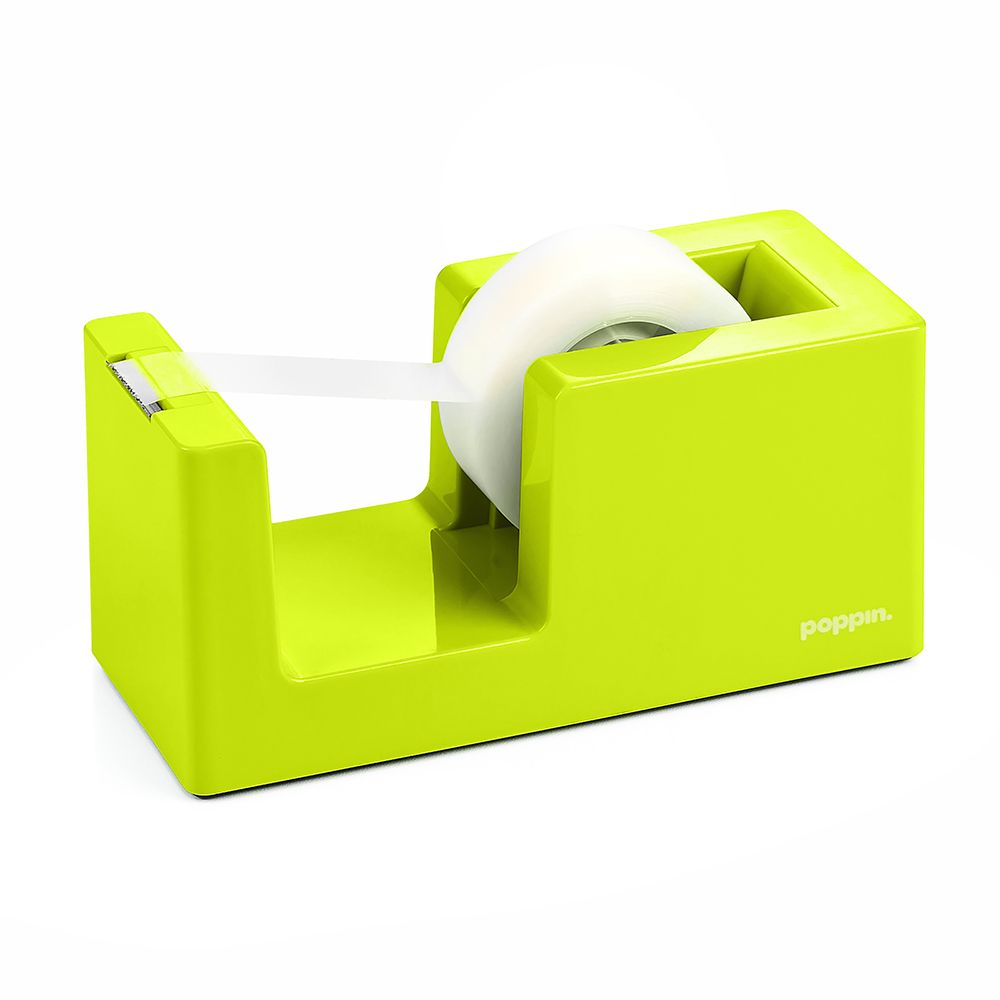 Lime Green Tape Dispenser | Tape U0026 Tape Dispensers | Poppin. Cool Office  SuppliesYellow ...