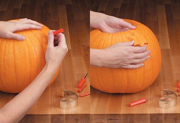 Cómo Vaciar Y Decorar Una Calabaza De Halloween Especial Halloween 2013 Especiales Charhadas Co Calabazas De Halloween Tradiciones De Halloween Halloween