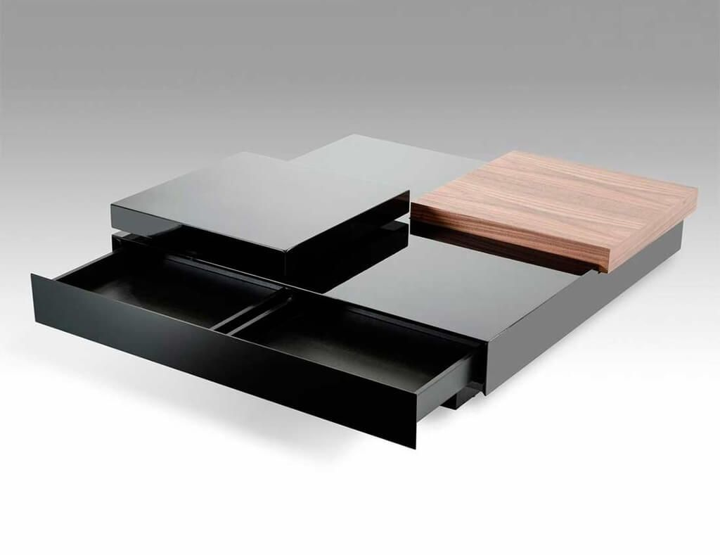 Furniture, Mesmerizing Modern Coffee Table Design With Storage Drawer: The Modern Coffee Table You Are Looking For