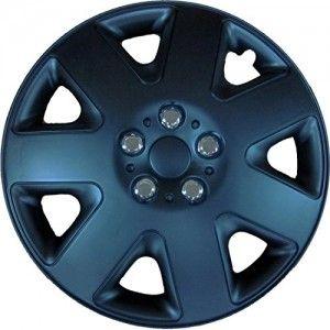 Set Sparco wheel covers Sicilia 14-inch blue//carbon
