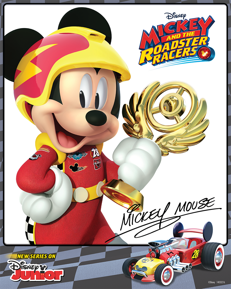 Mickey And The Roadster Racers Mickey Is Always Geared Up For Racing Fun Print Out Your Own Autogr Cumpleanos De Mickey Mouse Cumple Mickey Fiesta De Mickey