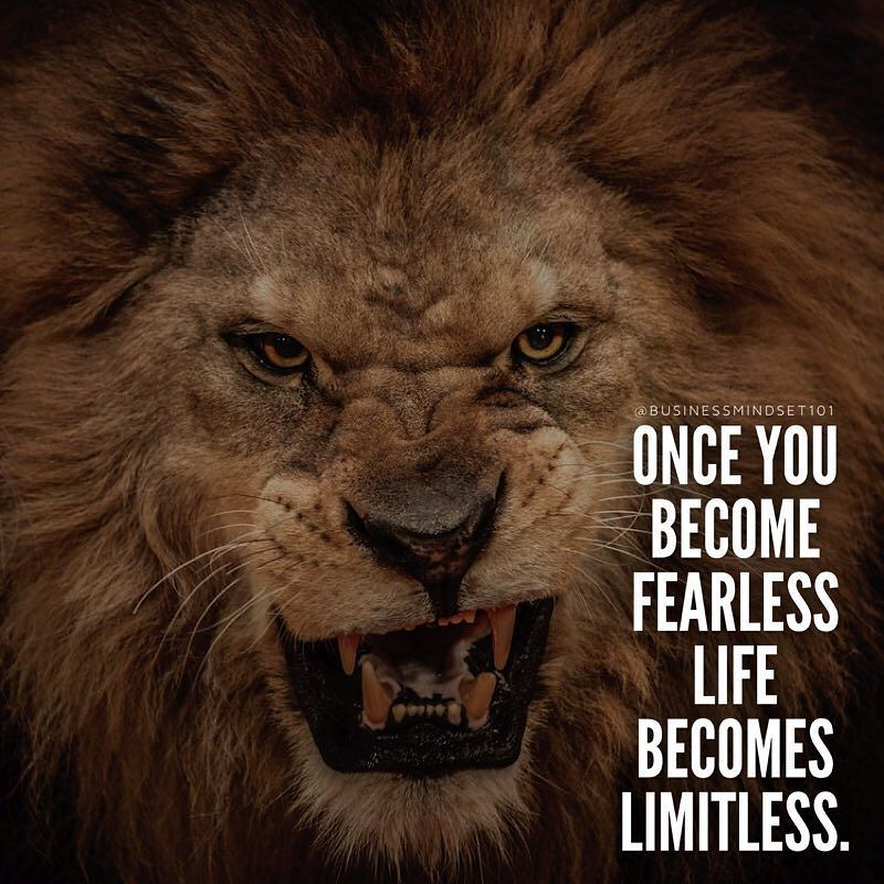 Inspired by @successdiaries Face your biggest fears and ...