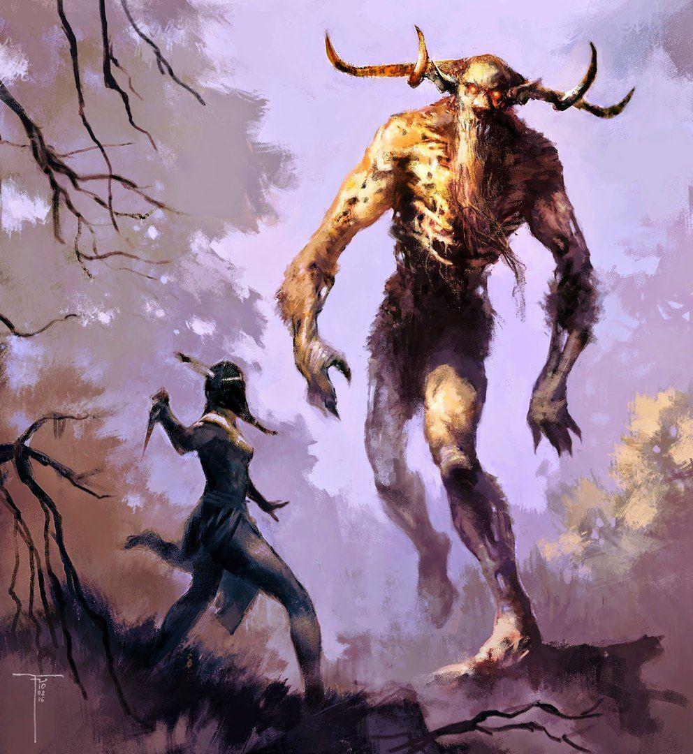 существа из мифов и легенд картинки считают