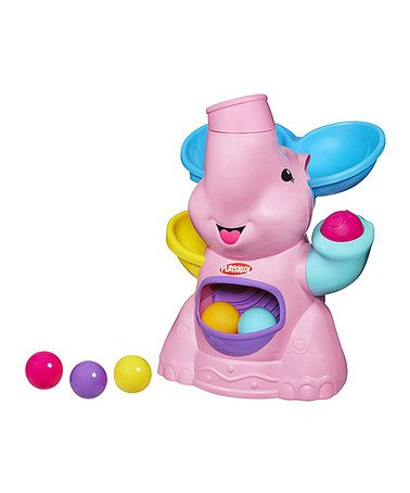 Look what I found on #zulily! Pink Elefun Busy Ball Popper Toy #zulilyfinds