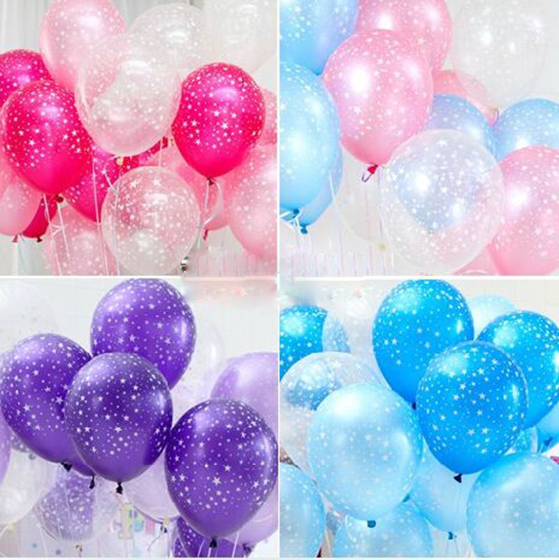 20 Pieces Star Balloon Party Birthday Wedding Decoration