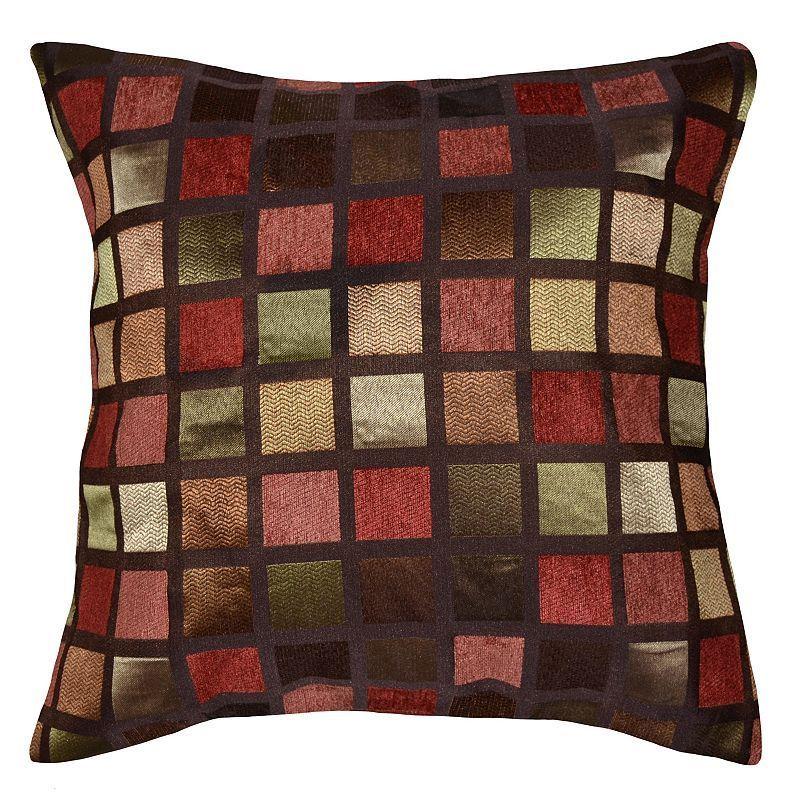 Spencer Home Decor Windowpane Geometric Throw Pillow Products Awesome Spencer Home Decor Pillows