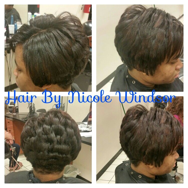 Relaxer And Cut Affirm Normal Relaxer Hair By Nicole Windsor At