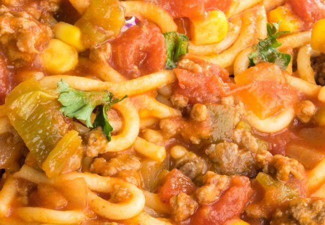 Mexican Spaghetti Recipe-A Delicious Mexican Twist on Spaghetti