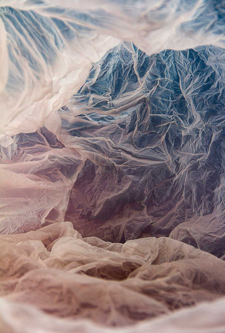 Magical Landscapes Created Within Plastic Bags by Vilde