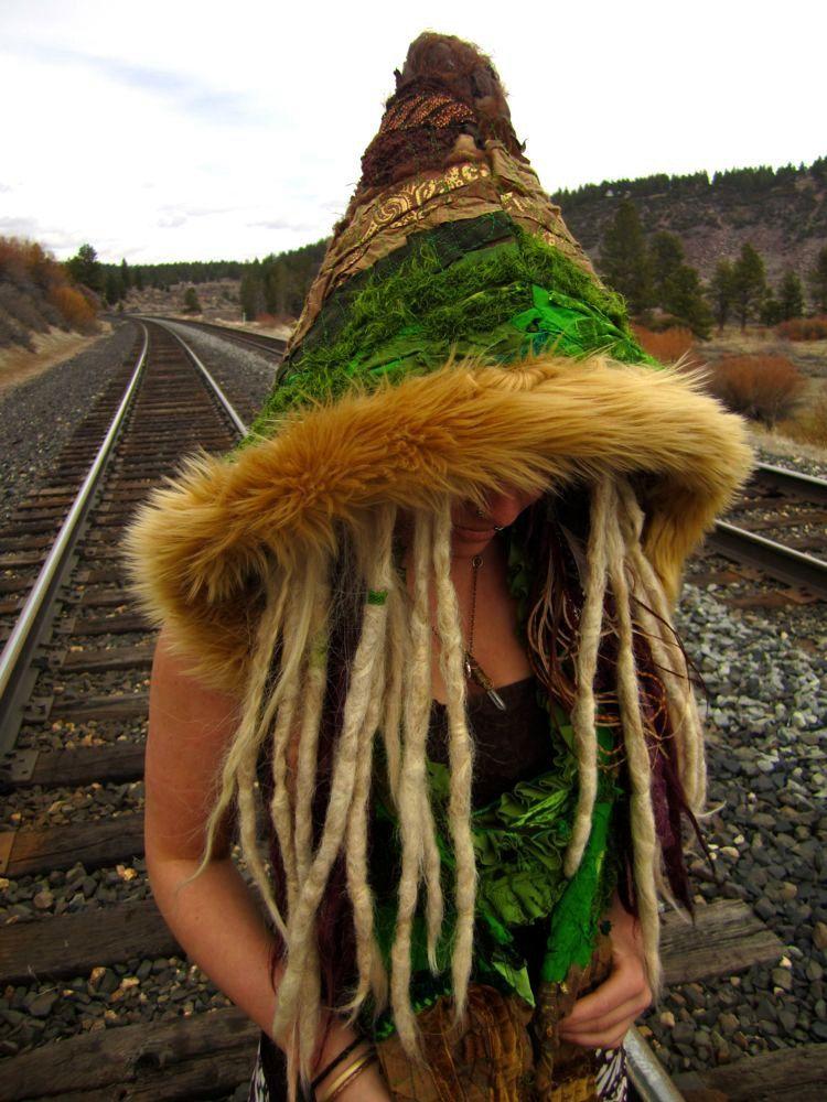 Pixie Hood Elf Hoodie Full Interstellar Scoodie Hoodie Festival Clothing. $168.00, via Etsy.
