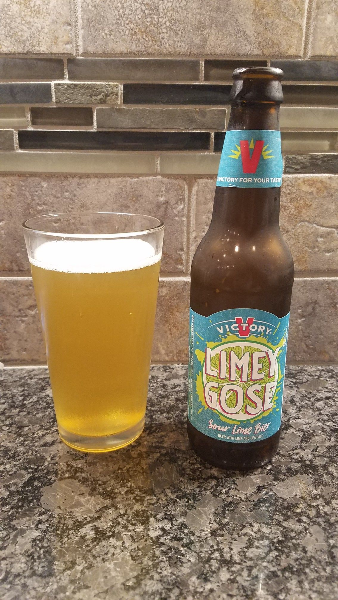 Victory Brewery Downingtown Pa Limey Gose Sour Lime Bier Alc
