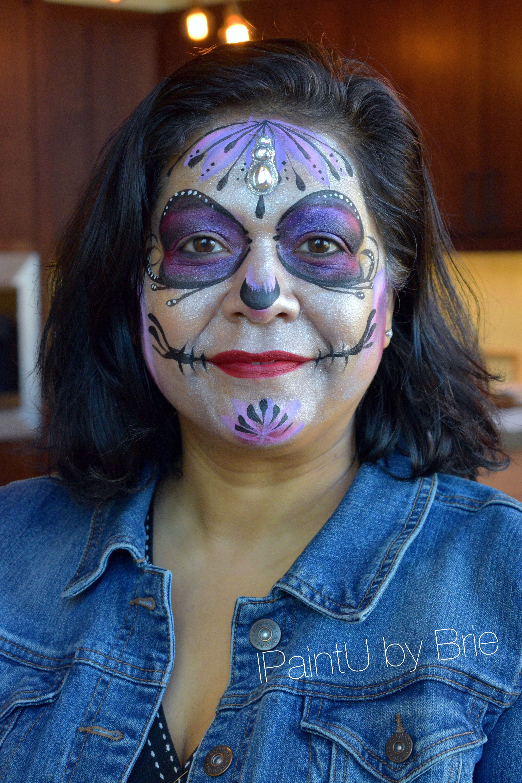 IPaintU by Brie San Antonio Dia De los Muertos Pearl