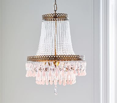 Vintage Glass Chandelier With Images Chandelier