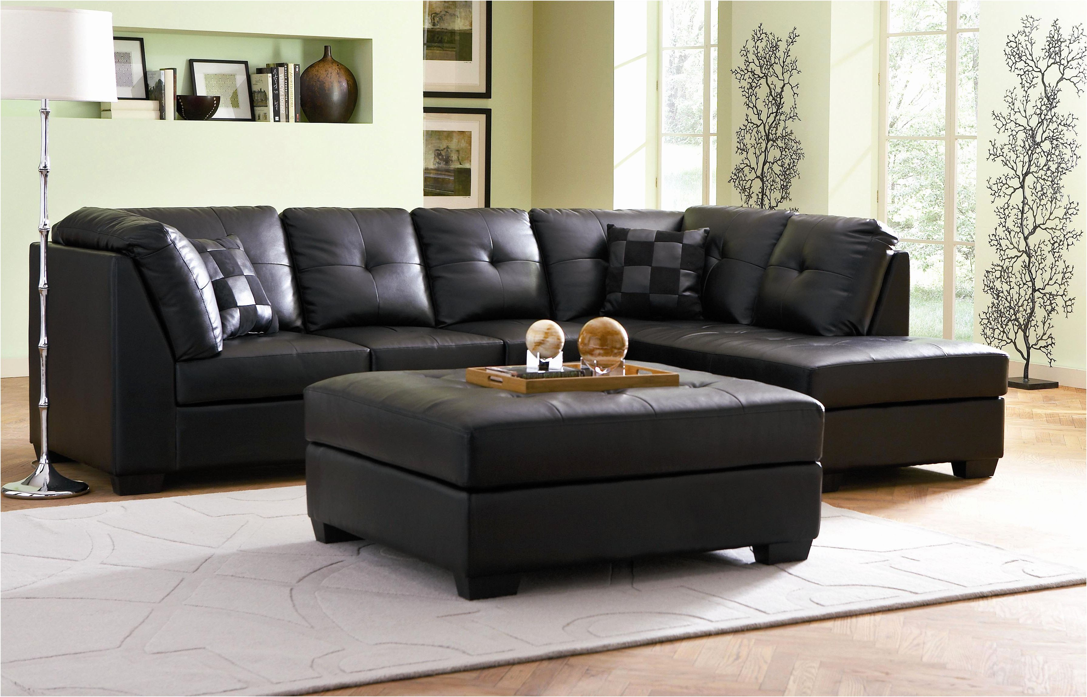 Pin by Sofacouchs on Sofas & Couches | Black leather sofa ...