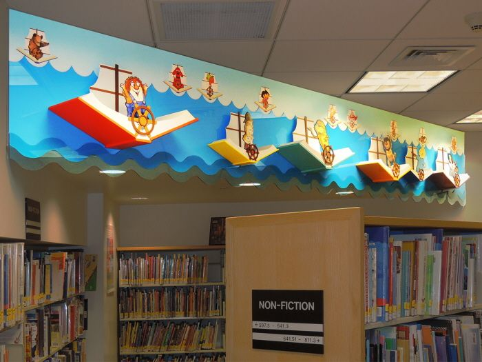 Childrens Library Design By Janice Davis At Coroflot Com Library