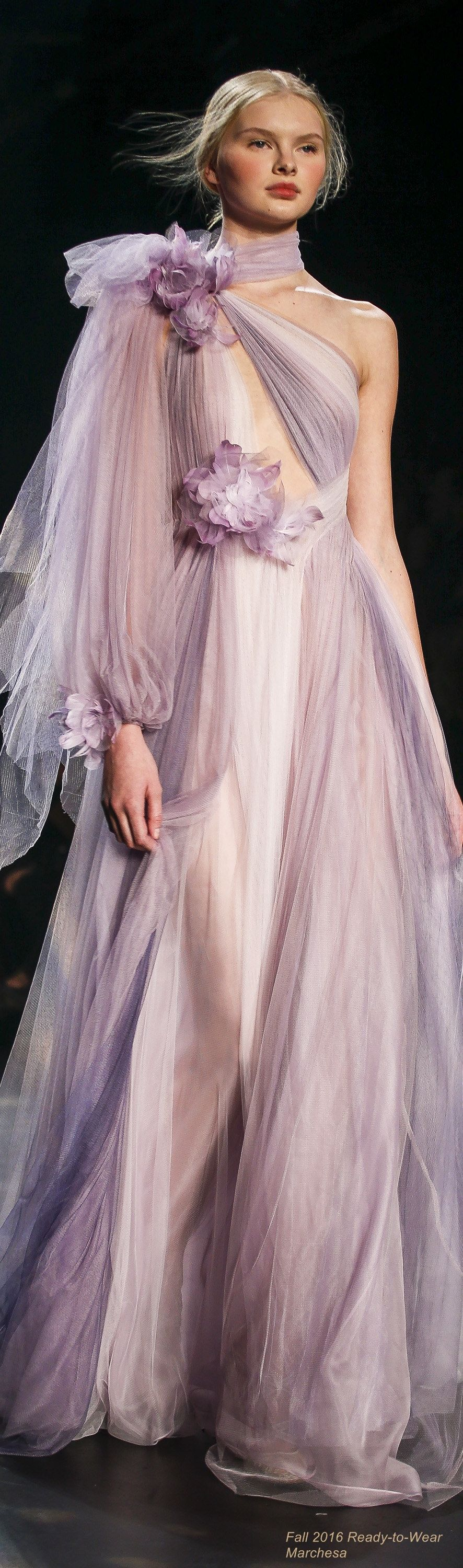 Fall 2016 Ready-to-Wear Marchesa | Outstanding Outfits | Pinterest ...