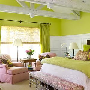 Laura Moss Photography Girl S Rooms Apple Green Walls Pink And Green Girls Room Pink And Gre Bedroom Green Beautiful Bedroom Colors Bedroom Color Schemes