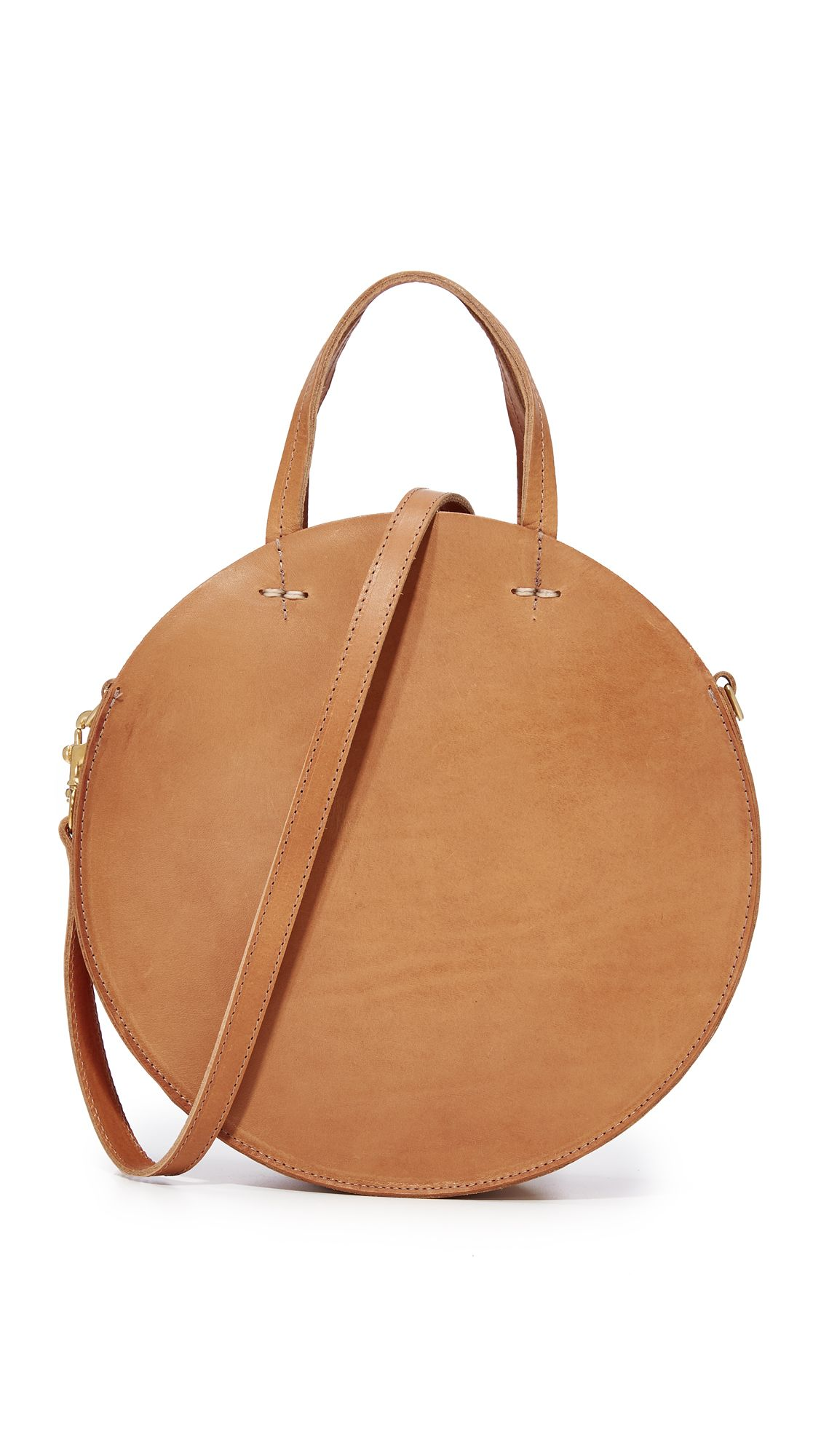 788eee18e clare v petite alistair leather circle bag | totes & handbags | Bags ...