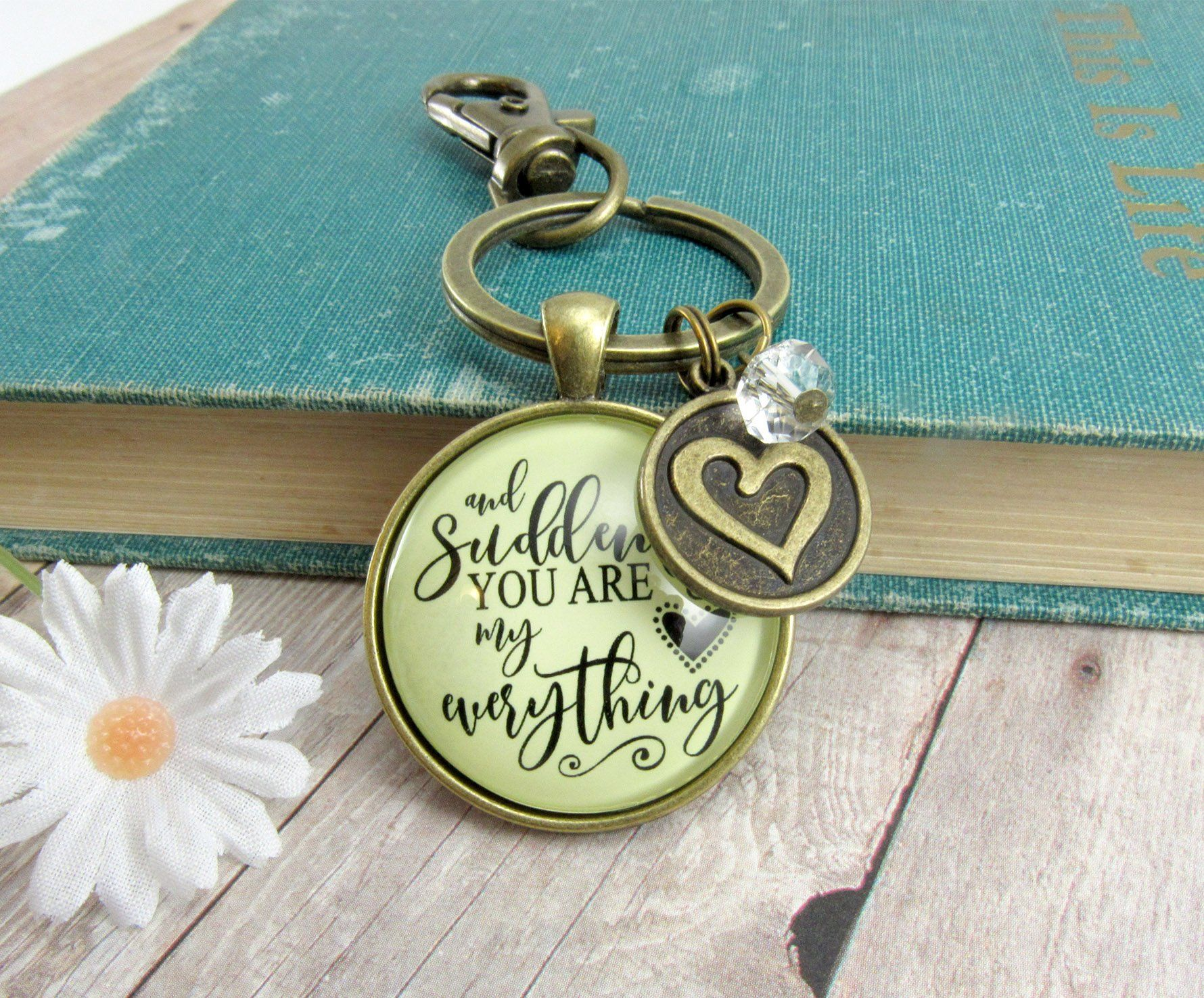 First mothers day keychain and suddenly you are my
