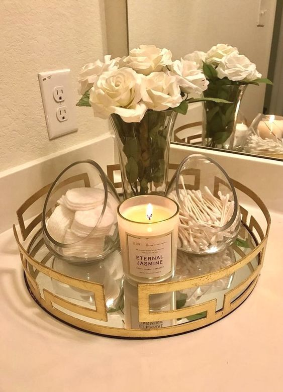 Photo of Easy DIY Bathroom Decor Ideas For Apartments on a Budget #bathroomdecor #Organization