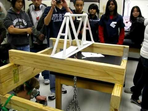 Paper Bridge Holds 880 Lbs Without Breaking