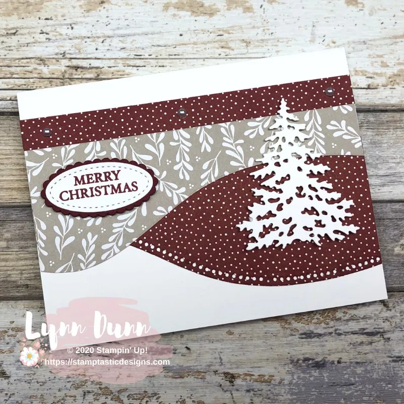 Curvy Christmas - Quick and Easy Card Ideas | Lynn