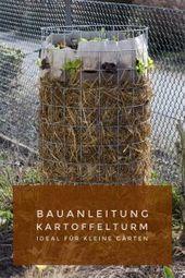 Simple construction manual for a potato tower Big potato harvest on little   Neuigkeiten aus dem kleinen Horrorgarten