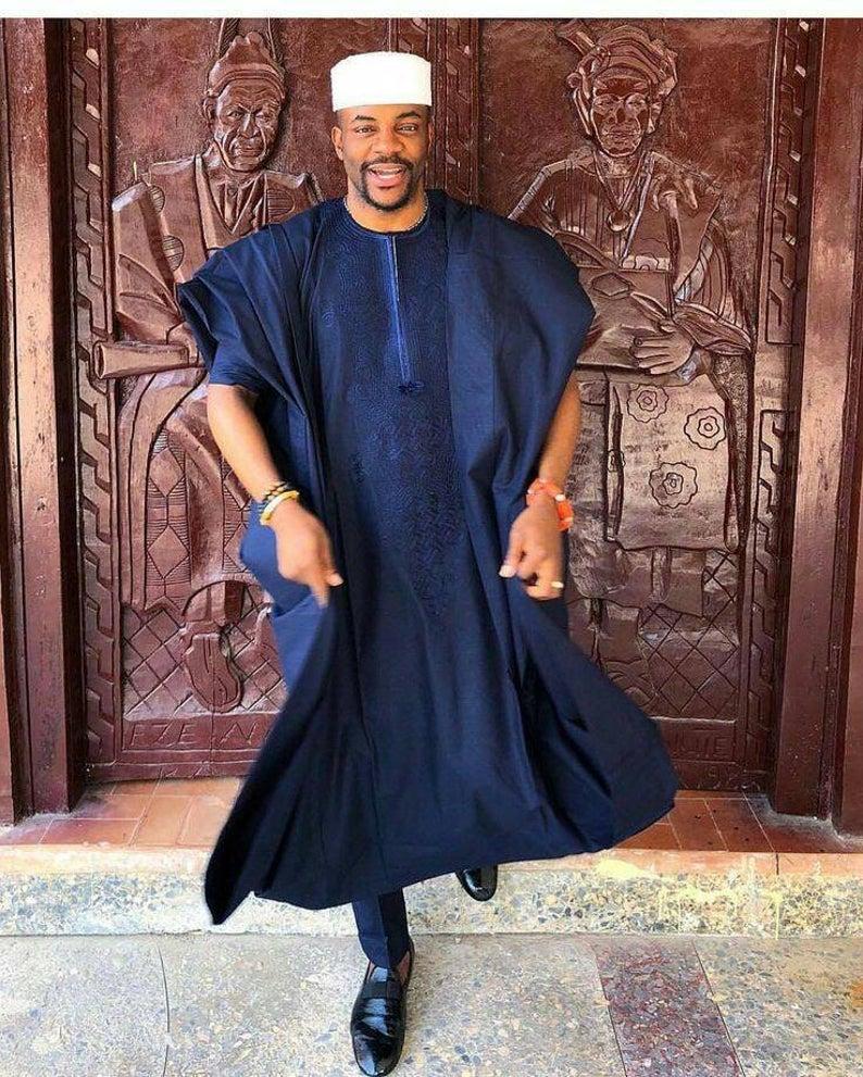 mens african wear mens dashiki mens 3 in 1 suit mens suit African african mens clothing mens african suit Mens agbada mens poncho