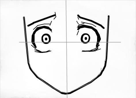 Unimaginable Shock Super Scared Eye Drawing Tutorials Eye Drawing Manga Drawing Tutorials