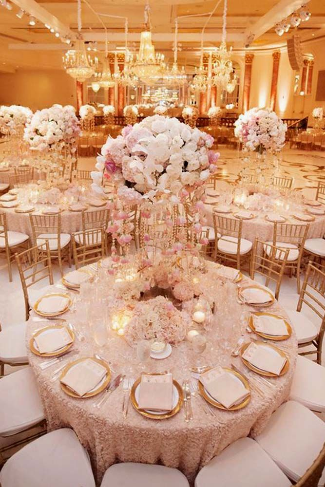 24 Notable Wedding Receptions To Impress Your Guests Decoracion 15