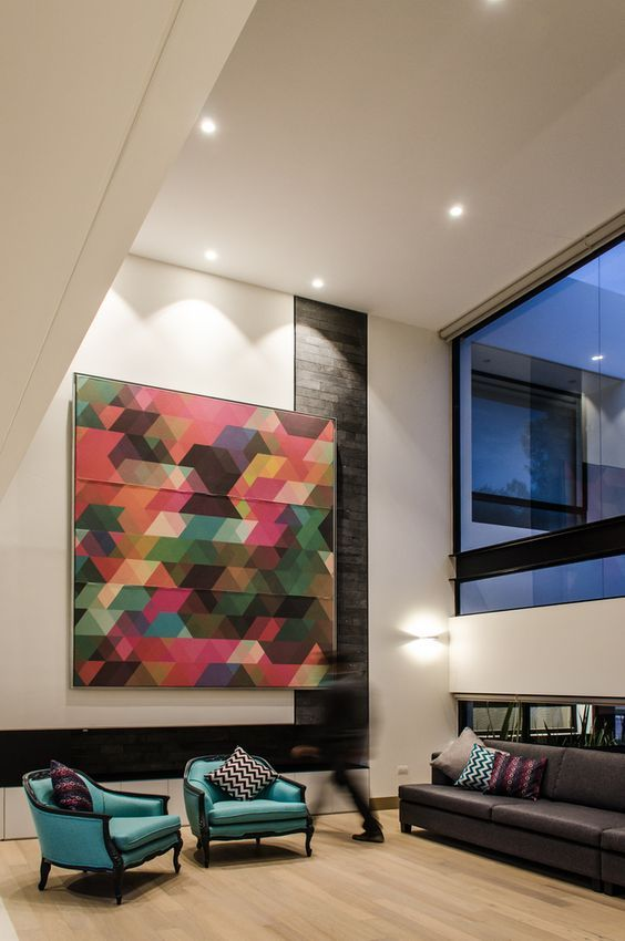 large abstract art in homes fantastic futuristic architecture and rh pinterest com