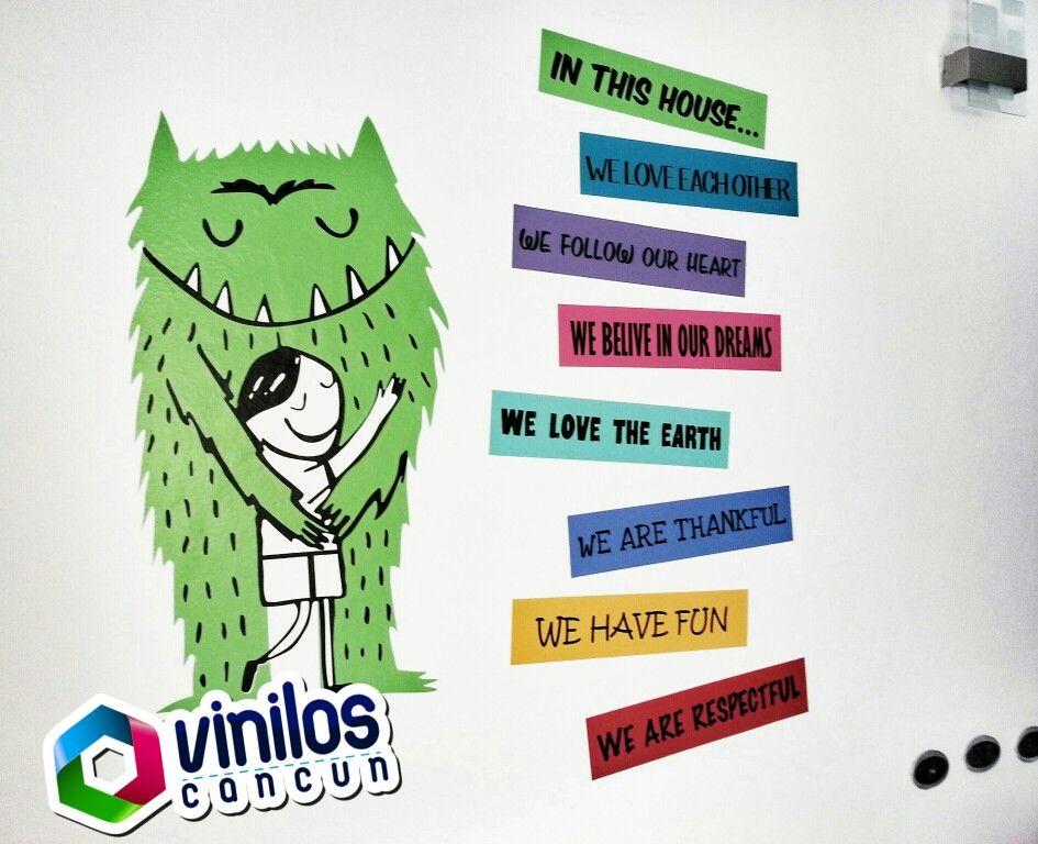 Vinilos decorativos personalizados 267 9907 viniloscancun - Vinilos decorativos personalizados ...