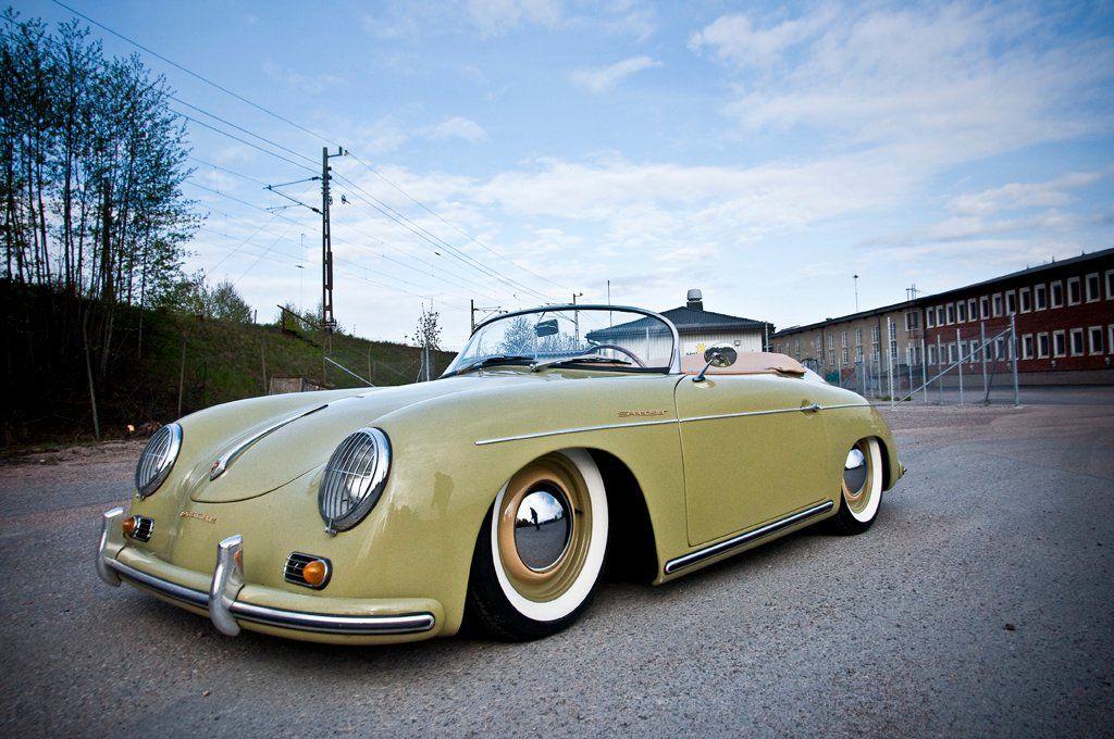 Porsche 356 speedster/ Different color though. Wasn't this car in Top Gun!!!
