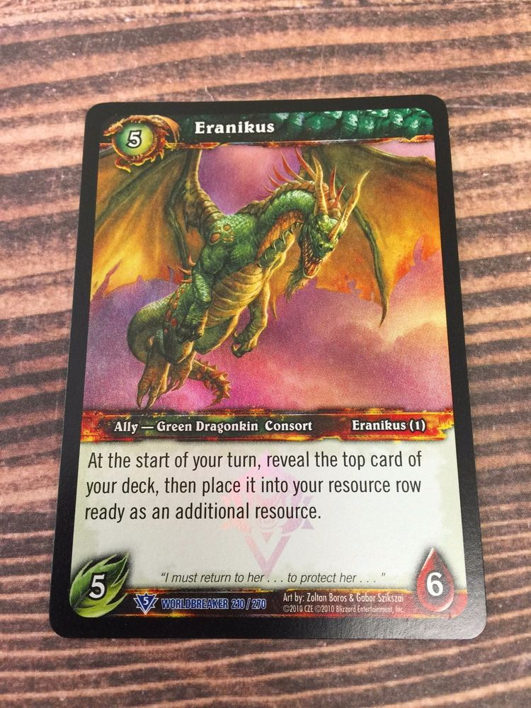 WoW TCG ARCHDRUID FANDRAL STAGHELM Light Play World of Warcraft