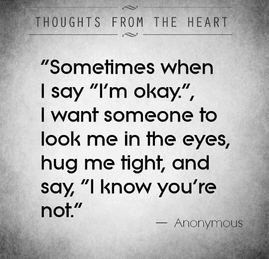 Sometimes when