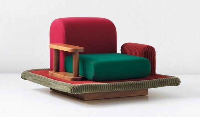 id es d co maison le style ettore sottsass g nie du design le monde de l 39 architecture. Black Bedroom Furniture Sets. Home Design Ideas