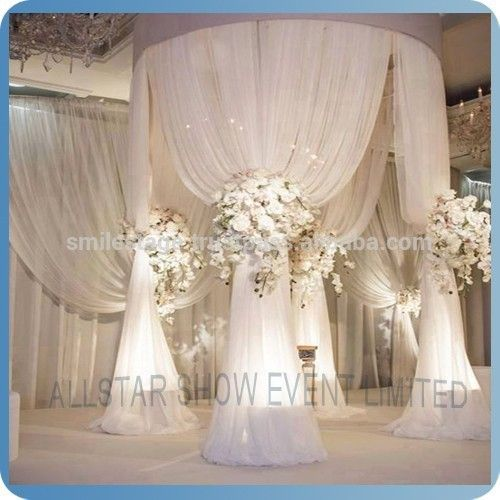 China Whole Pipe And Drape For Wedding Stage Backdrop Decoration Product On