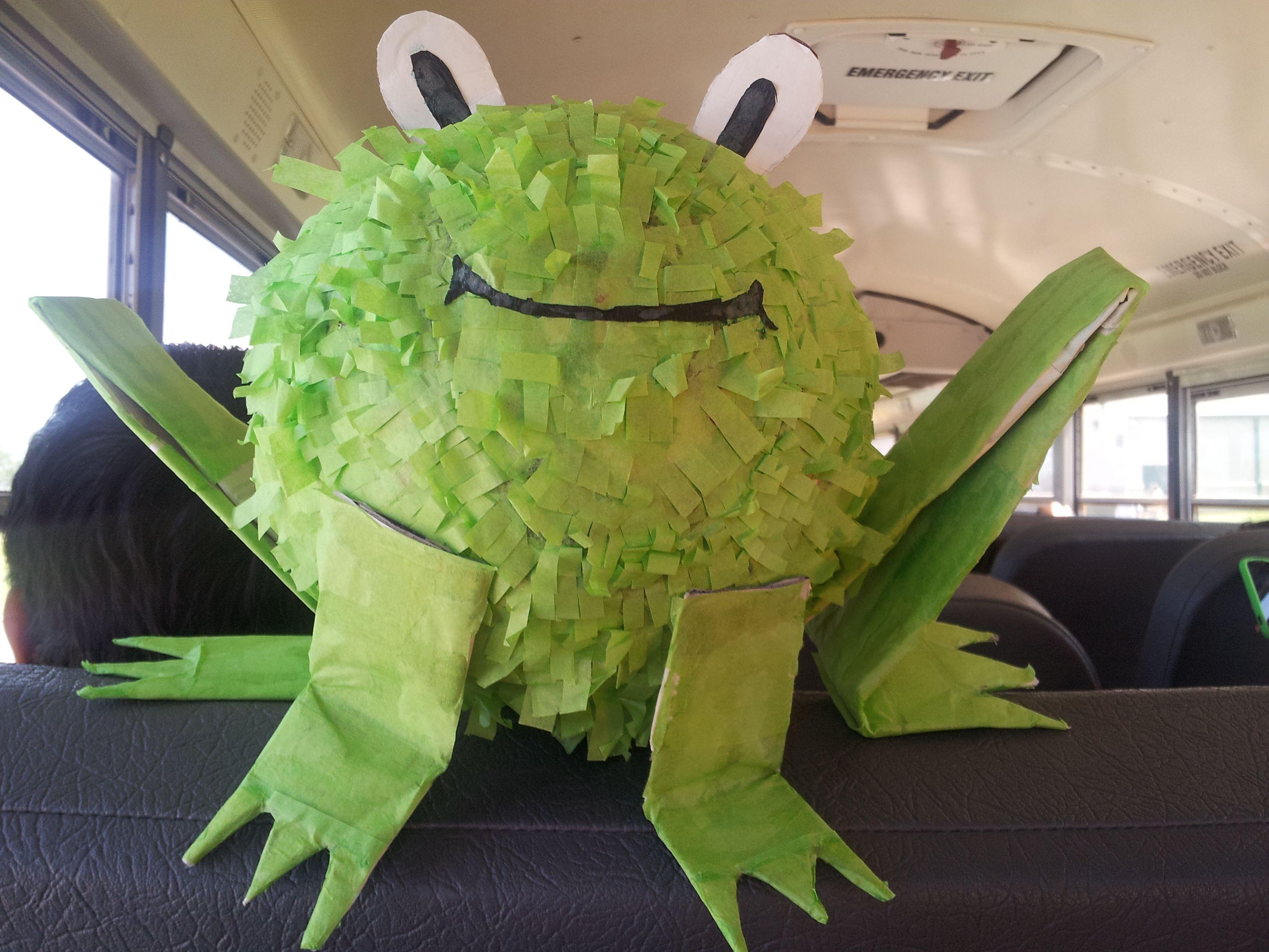 Frog Pinata ' Party Birthday