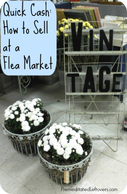 How to Make Money Selling Items at a Flea Market