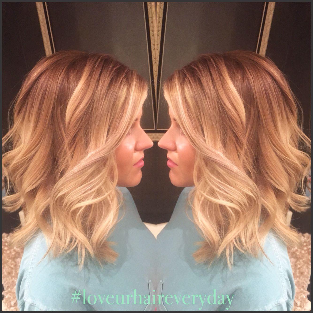 Balayage Beautiful Blonde Hair Painting Hair In 2019