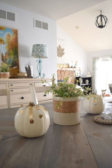 Our house, now a home: Fall-oween home tour hop, Our house now a home edition
